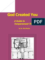 God created you