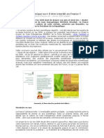 1GM Crops Read Answer and Summarise in French