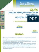 Guia Para El Manejo Antibiotico Parenteral Hsll 2012