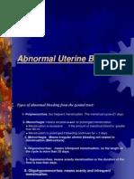 Abnormal Uterine