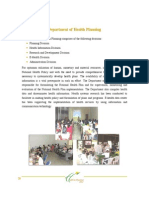 About Department of Health Planing