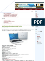 Sony Vaio VPCYB1S1E_S Con AMD Fusion