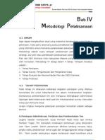 Metodologi Pelaksanaan Review DED Master Plan Majene
