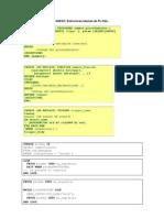 ANEXO. Estruturas Basicas de PL-SQL