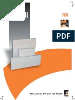 Fisa Tehnica Radiator Otel Ferroli 22 Pkkp