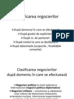 Principile Negocieriilor Politico-diplomatice 2011