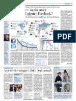 Il Corriere Della Sera - E' la fine del gigante Facebook?
