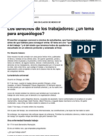 (Página_12 __ El país __ Los derechos de los trabajadores_ ¿un tema para arqueólogos_)