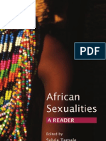African Sexualities - A Reader