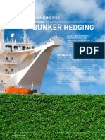 Minimising Risk Through Bunker Hedging