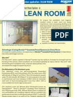 Bondor Indonesia - Clean Room Flyer
