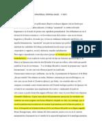 Negri, Reflexiones Sobre Lo Inmaterial. Spinoza-Marx 2