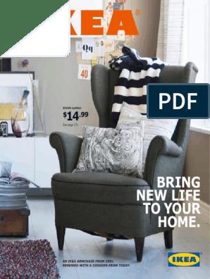NEW IKEA COVER for IKEA HARNOSAND Chair SLIPCOVER Light Gray New in Sealed pkg