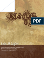 NALC 09 Salt & Light North American Leadership Conference: