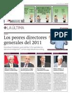 Los Peores Directores 2011