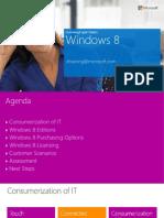 Microsoft Licensing Win8 Handout