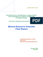 An Rs Final Mineral Report