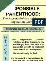 Responsible Parenthood