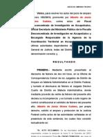 195-2013 No Ejercicio de La Accion Penal
