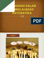 Permainan dalam media  pembelajaran matematika.pptx