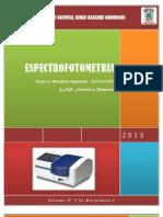 Informe N° 3 de Bioquimica I