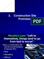 Construction Safety - Part 2 (Site Premises)