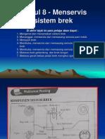 Modul 8 - Merservis Sistem Brek