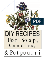 90397156 Homemade Recipes Book Soaps Ointments Candles Shampoos and Balms