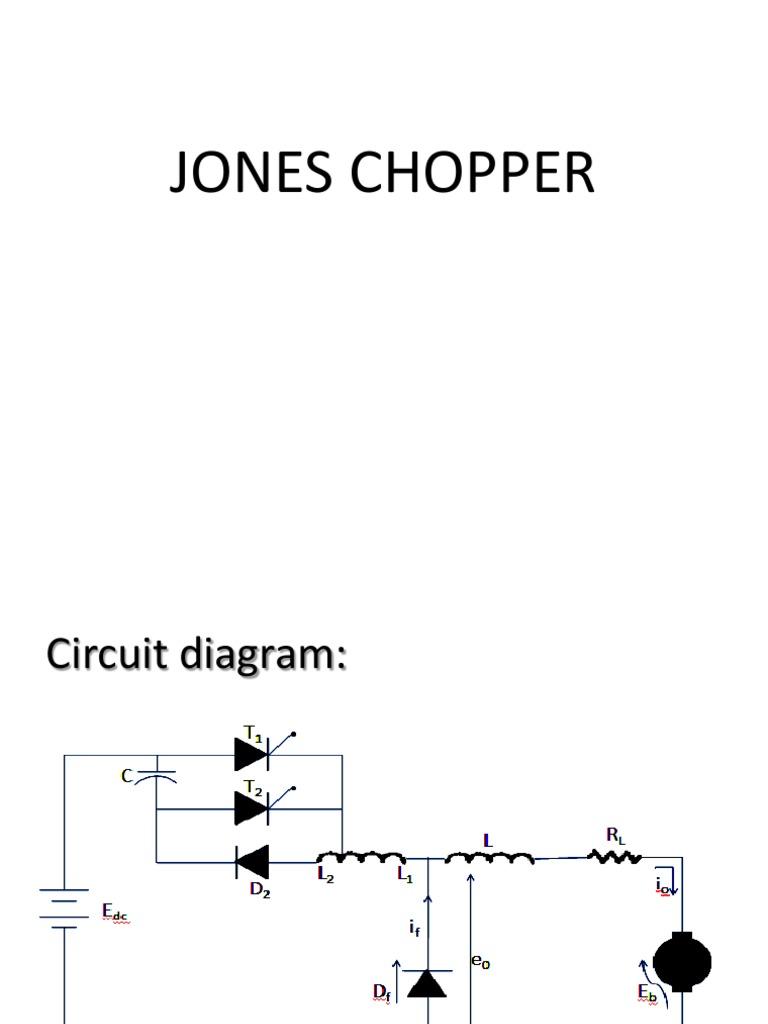 45189679 jones chopper pptx capacitor p n junction rh scribd com Triumph Chopper Wiring Diagram DC to DC Chopper