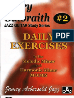 Barry Galbraith Book Two- Harmonic and Melodic Minor