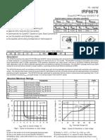 232-17079-IRF6678 DirectFET™ Power MOSFET