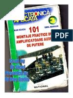 101 Montaje Practice de Amplificatoare Audio de Putere-ELECTRONICA APLICATA