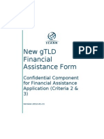 gTLD Confidential Component for Financial Assistance Application Nameshop