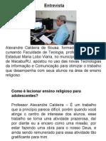 Tecnologias da Comunicação e Informação no Ensino Religioso
