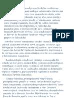 En México el clima está determinado por varios factores