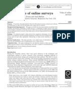 Value of Online Surveys
