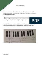 Keys and Intervals
