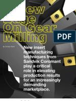 Gear Hobbing Sandvik
