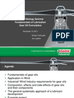 Fundamentals of Lubrication - Gear Oil Formulation