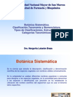 Clase 11 Botanica sistemática