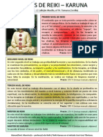 Cursos de Reiki Folleto