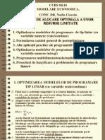 Curs9&10 Modelare Economica 2013_Nadia Ciocoiu