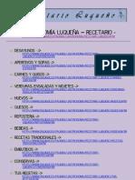 GASTRONOMÍA LUQUEÑA - Recetario online