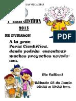 Afiche Feria Cientifica