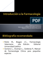 Introduccion a la farmacologia