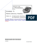 Simulado 162 - PCF Área 6 - PF - CESPE