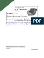 Simulado 165 - PCF Área 6 - PF - CESPE