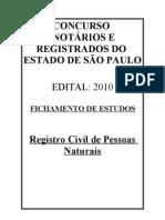 FICHAMENTO - RCPN - SÃO PAULO (2010)