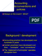 F3 Concepts Conventions Policies