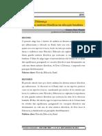 De Deus à Diferença Trajetória das matrizes filosóficas na educação brasileira